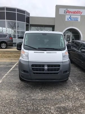 Used Wheelchair Van For Sale: 2018 Ram Promaster Low Roof Wheelchair Accessible Van For Sale with a  on it. VIN: 3C6TRVAG6JE113737