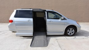 Used Wheelchair Van For Sale: 2010 Honda Odyssey Touring  Wheelchair Accessible Van For Sale with a VMI - Honda Summit on it. VIN: 5FNRL3H92AB067267