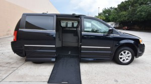 Used Wheelchair Van For Sale: 2010 Chrysler Town & Country Touring Wheelchair Accessible Van For Sale with a Rollx Vans - Rollx In Floor Chrysler on it. VIN: 2A4RR5D12AR149024