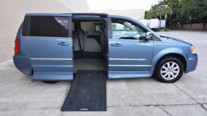 Used Wheelchair Van For Sale: 2011 Chrysler Town & Country Touring Wheelchair Accessible Van For Sale with a Rollx Vans - Rollx In Floor Chrysler on it. VIN: 2A4RR5D12AR149024