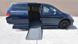 38d5e100f1c217 Used Wheelchair Van For Sale  2009 Honda Odyssey EX-L Wheelchair Accessible  Van For