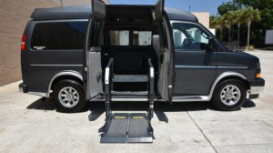 Used Wheelchair Van For Sale: 2017 GMC Savana  Wheelchair Accessible Van For Sale with a Non Branded - Full Size Van Conversion on it. VIN: 1GTW7AFG0H1119723