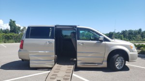 Used Wheelchair Van For Sale: 2016 Chrysler Town & Country Limited Wheelchair Accessible Van For Sale with a BraunAbility - Chrysler Entervan XT on it. VIN: 2C4RC1CG4GR190205