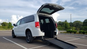 Used Wheelchair Van For Sale: 2016 Dodge Caravan  Wheelchair Accessible Van For Sale with a BraunAbility - Dodge Manual Rear Entry on it. VIN: 2C4RDGCG7GR118091