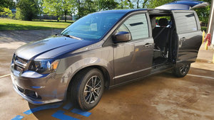 Used Wheelchair Van For Sale: 2018 Dodge Grand Caravan S Wheelchair Accessible Van For Sale with a undefined on it. VIN: 2C4RDGBG7JR221617