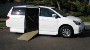 Used Wheelchair Van For Sale 2010 Honda Odyssey EX Accessible With