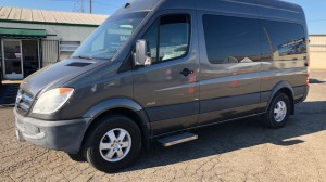 Used Wheelchair Van For Sale: 2011 Mercedes Sprinter  Wheelchair Accessible Van For Sale with a  on it. VIN: WD3PE7CD2B5587776