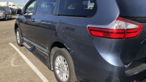 Used Wheelchair Van For Sale: 2015 Toyota Sienna XLE Wheelchair Accessible Van For Sale with a Eldorado National Amerivan - Toyota Amerivan on it. VIN: 5TDXK3DCX581046FS