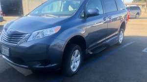Used Wheelchair Van For Sale: 2015 Toyota Sienna LE Wheelchair Accessible Van For Sale with a VMI - Toyota Summit Access360 on it. VIN: 5TDKK3DC3FS618170