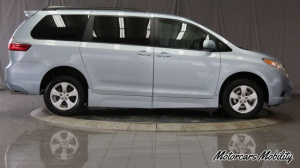 Used Wheelchair Van For Sale: 2015 Toyota Sienna LE Wheelchair Accessible Van For Sale with a Freedom Motors Power Toyota Rear Entry on it. VIN: 5TDKK3DC0FS609202