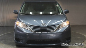 Used Wheelchair Van For Sale: 2015 Toyota Sienna LE Wheelchair Accessible Van For Sale with a Freedom Motors Power Toyota Rear Entry on it. VIN: 5TDKK3DC4FS535508