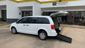 New Wheelchair Van For Sale: 2018 Dodge Caravan  Wheelchair Accessible Van For Sale with a ATS - ATS Rear Entry on it. VIN: 2C4RDGBG9JR285397