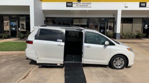 Used Wheelchair Van For Sale: 2017 Toyota Sienna XLE Wheelchair Accessible Van For Sale with a Adaptive Mobility Systems - Side Entry Toyota Sienna on it. VIN: 5TDYZ3DC4HS791088