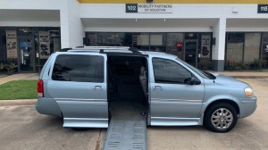 Used Wheelchair Van For Sale: 2007 Buick Terraza XL Wheelchair Accessible Van For Sale with a BraunAbility - Buick Entervan on it. VIN: 4GLDV13W37D183016