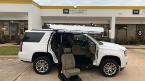 Used Wheelchair Van For Sale: 2018 GMC Yukon  Wheelchair Accessible Van For Sale with a ATC Wheelchair Truck Conversions - Chevy, GMC & Cadalliac Suv's on it. VIN: 1GKS1BKC6JR156747
