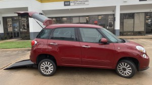Used Wheelchair Van For Sale: 2014 Fiat 500L  Wheelchair Accessible Van For Sale with a Freedom Motors - Fiat 500 Wheelchair Accessible on it. VIN: ZFBCFABH7EZ028405