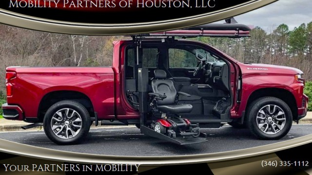 New Wheelchair Van For Sale: 2020 Chevrolet Silverado  Wheelchair Accessible Van For Sale with a  on it. VIN: 3GCPWDED3LG109388