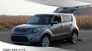 Used Wheelchair Van For Sale: 2018 Kia Soul  Wheelchair Accessible Van For Sale with a Freedom Motors - Kia Soul Wheelchair Accessible on it. VIN: KNDJP3A54K7666364