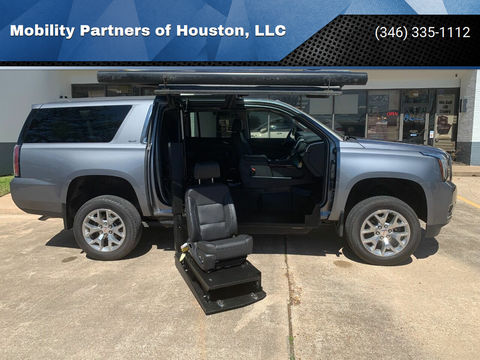 Used Wheelchair Van For Sale: 2019 GMC Yukon  Wheelchair Accessible Van For Sale with a  on it. VIN: 1GKS2GKC5KR108409