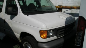 Used Wheelchair Van For Sale: 2006 Ford Econoline Cargo  Wheelchair Accessible Van For Sale with a Non Branded - Mobility Services Transit IFL Shuttle Van on it. VIN: 1ftns24l96da62661