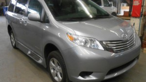 New Wheelchair Van For Sale: 2016 Toyota Sienna LE Wheelchair Accessible Van For Sale with a Non Branded - Mobility Services Transit Ambulette on it. VIN: 5TDKK3DC9GS695854