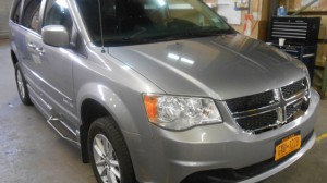 Used Wheelchair Van For Sale: 2015 Dodge Caravan  Wheelchair Accessible Van For Sale with a Eldorado National Amerivan - Dodge & Chrysler Amerivan on it. VIN: 2C4RDGCGFR744967