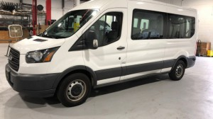 Used Wheelchair Van For Sale: 2015 Ford Transit High Roof Wheelchair Accessible Van For Sale with a Non Branded - Mobility Services Transit Ambulette on it. VIN: 1FDZX2CM3FKA18496
