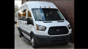 New Wheelchair Van For Sale: 2019 Ford T-350 Jumbo  Wheelchair Accessible Van For Sale with a Non Branded - Mobility Services Transit IFL Shuttle Van on it. VIN: 1FBAX2CM2HKA01796