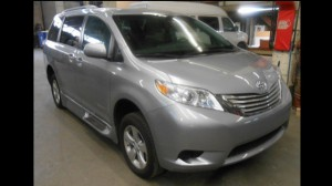 New Wheelchair Van For Sale: 2016 Toyota Sienna  Wheelchair Accessible Van For Sale with a Non Branded - Mobility Services Transit Ambulette on it. VIN: 5TDKK3DC9GS695854