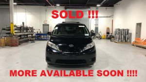 Used Wheelchair Van For Sale: 2017 Toyota Sienna LE Wheelchair Accessible Van For Sale with a FR Wheelchair Vans - Toyota Rear Entry on it. VIN: 5tdkz3dc2hs783383