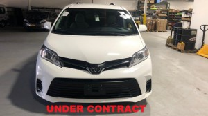 Used Wheelchair Van For Sale: 2018 Toyota Sienna LE Wheelchair Accessible Van For Sale with a FR Wheelchair Vans - Toyota Rear Entry on it. VIN: 5TDKZ3DC9JS914654