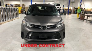Used Wheelchair Van For Sale: 2018 Toyota Sienna LE Wheelchair Accessible Van For Sale with a FR Wheelchair Vans - Toyota Rear Entry on it. VIN: 5TDKZ3DC3JS942353