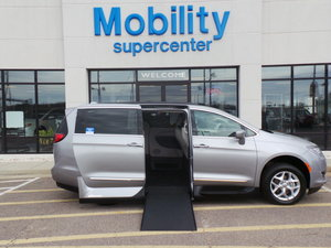 New Wheelchair Van For Sale: 2017 Chrysler Pacifica Touring Wheelchair Accessible Van For Sale with a Northstar on it. VIN: 2C4RC1DG2HR748603
