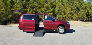 New Wheelchair Van For Sale: 2017 Chrysler Pacifica Touring Wheelchair Accessible Van For Sale with a Northstar on it. VIN: 2C4RC1DGXHR765035