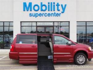 New Wheelchair Van For Sale: 2015 Chrysler Town & Country EL Wheelchair Accessible Van For Sale with a  on it. VIN: 2C7WC1CG5FR645714
