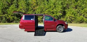 New Wheelchair Van For Sale: 2017 Dodge Grand Caravan SXT Wheelchair Accessible Van For Sale with a Amerivan Classic on it. VIN: 2C7WDGCGXHR630631