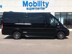 New Wheelchair Van For Sale: 2017 Ram Promaster  Wheelchair Accessible Van For Sale with a Slideaway on it. VIN: 3C6URVUG4HE553305
