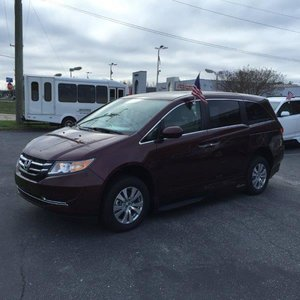 New Wheelchair Van For Sale: 2015 Honda Odyssey SE Wheelchair Accessible Van For Sale with a VMI Northstar on it. VIN: 5FNRL5H69FB107630