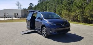 New Wheelchair Van For Sale: 2019 Toyota Sienna SE Wheelchair Accessible Van For Sale with a VMI on it. VIN: 5TDXZ3DC8KS978109