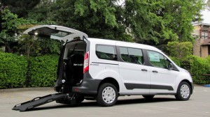 New Wheelchair Van For Sale: 2018 Ford   Wheelchair Accessible Van For Sale with a Nor-Cal Vans - NCV Transit Connect Adaptive Van on it. VIN: NM0GE9E76J1375068