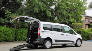 New Wheelchair Van For Sale: 2020 Ford Transit Connect  Wheelchair Accessible Van For Sale with a Nor-Cal Vans - NCV Personal Mobility Transit on it. VIN: NM0GE9E26L1448396