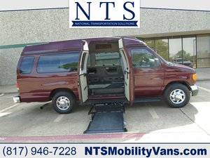 Used Wheelchair Van For Sale: 2004 Ford E350 Hightop Diesel EL Wheelchair Accessible Van For Sale with a  on it. VIN: 1FDSS31PX4HB51575