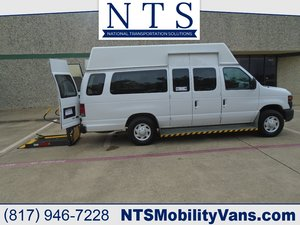 Used Wheelchair Van For Sale: 2009 Ford E350 Hightop  Wheelchair Accessible Van For Sale with a  on it. VIN: 1FTSS34L79DA76717