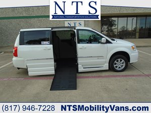 Used Wheelchair Van For Sale: 2011 Chrysler Town & Country Touring Wheelchair Accessible Van For Sale with a  on it. VIN: 2A4RR5DG0BR612509