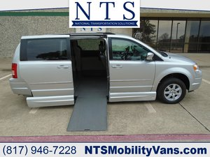 Used Wheelchair Van For Sale: 2010 Chrysler Town & Country LE Wheelchair Accessible Van For Sale with a  on it. VIN: 2A4RR8D11AR451955