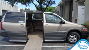 Used Wheelchair Van For Sale: 2004 Pontiac Montana SE Wheelchair Accessible Van For Sale with a BraunAbility Dodge Entervan II on it. VIN: 1G5DX23E84D264301