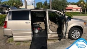 Used Wheelchair Van For Sale: 2016 Chrysler Town & Country Limited Wheelchair Accessible Van For Sale with a  on it. VIN: 2C4RC1GG5GR302732