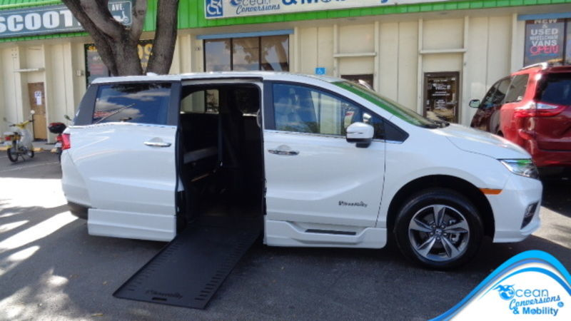 393bec71477230 New Wheelchair Van For Sale  2019 Honda Odyssey Wheelchair Accessible Van  For Sale with a