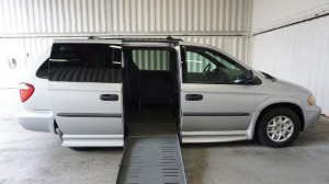 Used Wheelchair Van For Sale: 2004 Dodge Caravan  Wheelchair Accessible Van For Sale with a Non Branded - Please See Description on it. VIN: 1D4GP24R6B575554