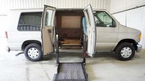 Used Wheelchair Van For Sale: 2002 Ford E-150 XL Wheelchair Accessible Van For Sale with a Non Branded - Please See Description on it. VIN: 1FDRE14L32HA84592